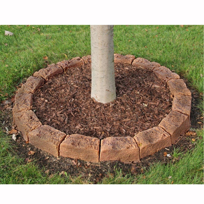 Garden Edging Blocks Masters : Landscape rocks gt edging stones for tree rings and landscaping