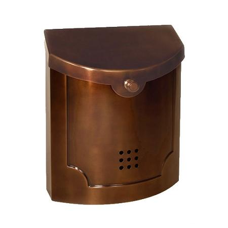 E4 Ecco Mailbox Antique Copper