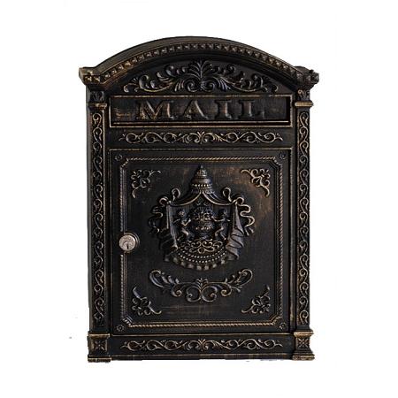 E6 Ecco Victorian Locking Mailbox Bronze