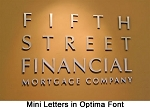 Mini Metal Letters for Offices & Businesses & Apartments