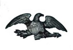Eagle Wall Plaque 23 Inches
