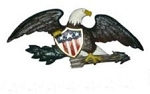 Wall or Gable Eagle in Color
