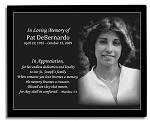Photo Memorial Marble Plaque 7 x 9