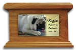 Dog Memorial Urn with Photo