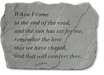 Garden Stone - When Come To The End Of The Road..