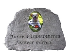 Photo Memorial Stone - Forever remembered