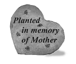 Memorial Stone - Planted in memory of Mother