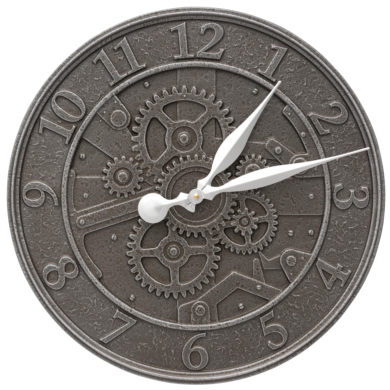 Gear 16 Quot Indoor Outdoor Wall Clock