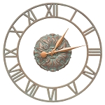 Cambridge Floating Ring Indoor/Outdoor Wall Clock