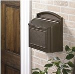 Whitehall Wall Mailbox, French Bronze
