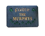 Failte Welcome Plaque Personalize