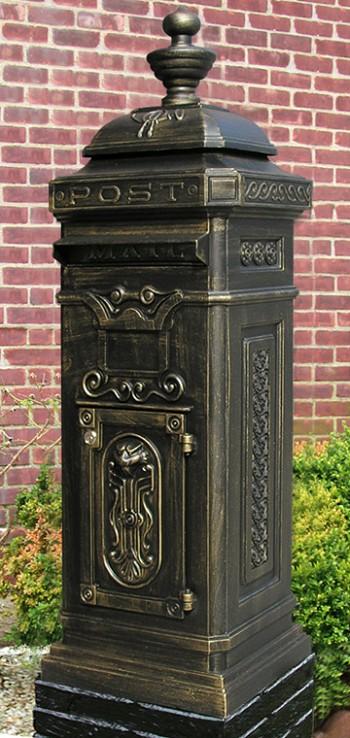 Ecco Victorian Tower Mailbox In Bronze