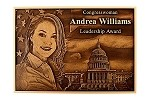 Photo Relief Plaque - Bronze