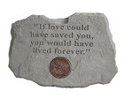 Fire and Rescue Memorial Stone - If love