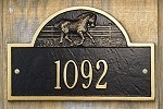 Horse Stall Plaque - Ranch