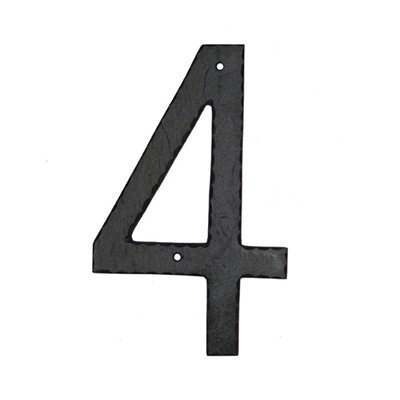 Inch Aluminum House Numbers Textured - 10 inch metal house numbers
