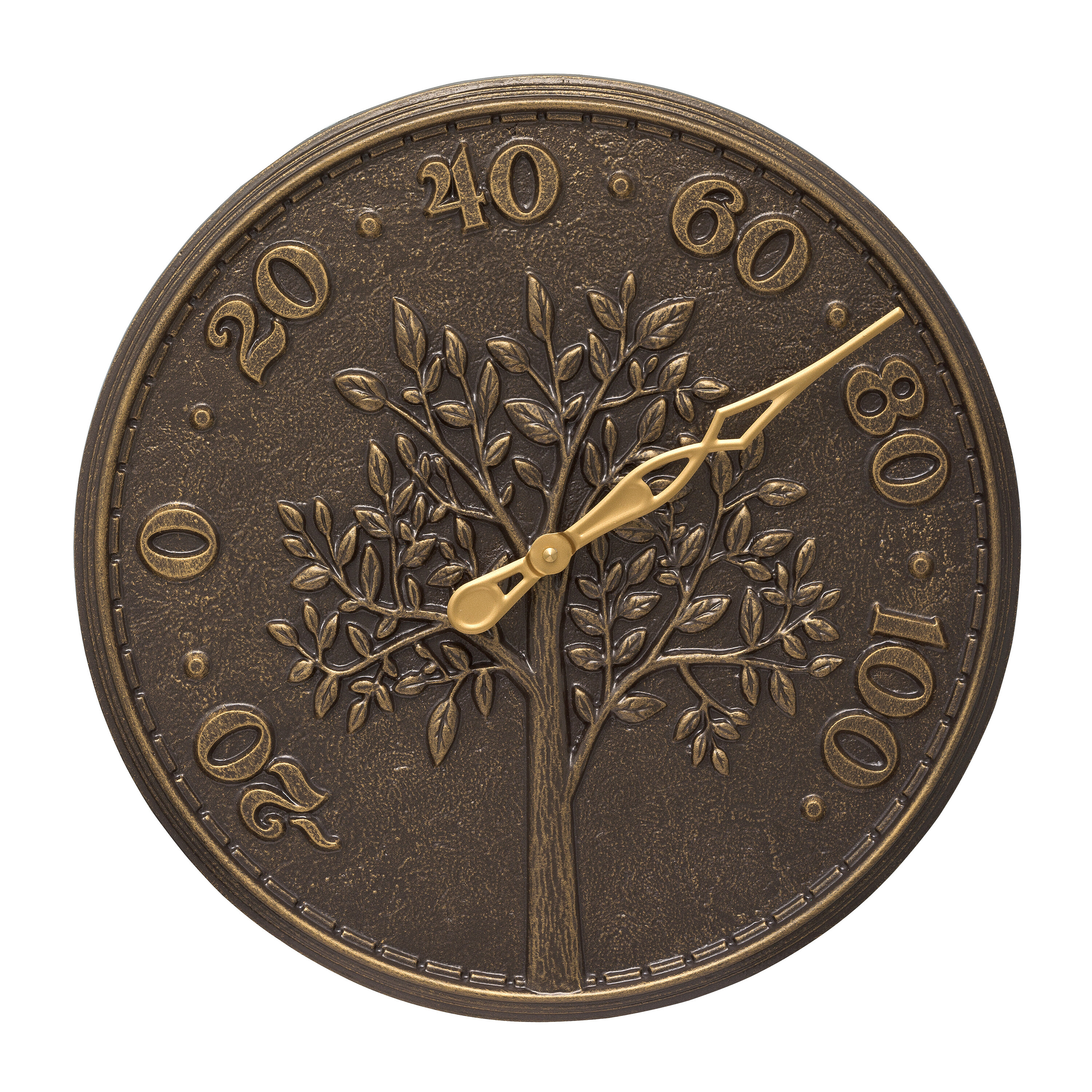 Tree Of Life Indoor Outdoor Wall Thermometer