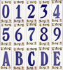 Ceramic House Numbers Single