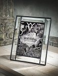 Personalized Beveled Glass Picture Frame
