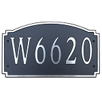Composite Address Plaque Large, 646L