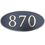 Composite Address Plaque Large, 650L