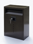 E9 Ecco Locking Mailbox Bronze 13