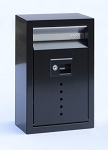 E9 Ecco Locking Mailbox Black 13