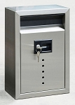 E10 Ecco Large Stainless Steel Locking Mailbox  15