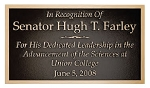 Personalized Bronze Plaque