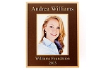 Personalized Photo Print Insert Bronze Plaque