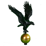 Flag Pole Eagle Small