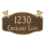Chickadee Decorative Plaque Wall