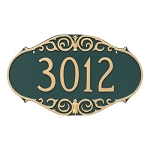 Victorian Address Plaque Wall