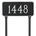 Madison 1 Line Lawn Address Plaque