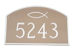 Ichthus Prestige Address Plaque