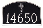 Prestige Address Plaque Cross