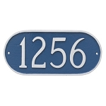Oval Address Plaque Standard Wall