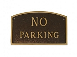 No Parking Arch Sign