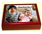 Photo Keepsake Box for Parents