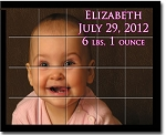 Photo on Ceramic Tiles - Baby or Child