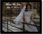 Murals on Ceramic Tile - Weddings & Anniversaries