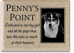 Pet Memorial Plaque, Metal Inset