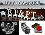 Wedding Expression Trains - Personalized Pewter