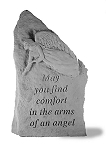 May You Find Comfort Upright Memorial Stone