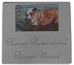 Forever Loved Photo Memorial Stone