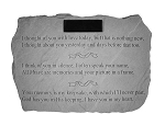 I Thought Of You Personalized Memorial Stone