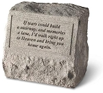 If Tears Could Pet Memorial Stone With Urn