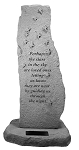 If Roses Grow In Heaven Upright Personalized Memorial Stone