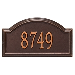 Providence Arch Address Plaque Wall 1 Line