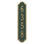 Richmond Vertical Address Plaque Standard Size